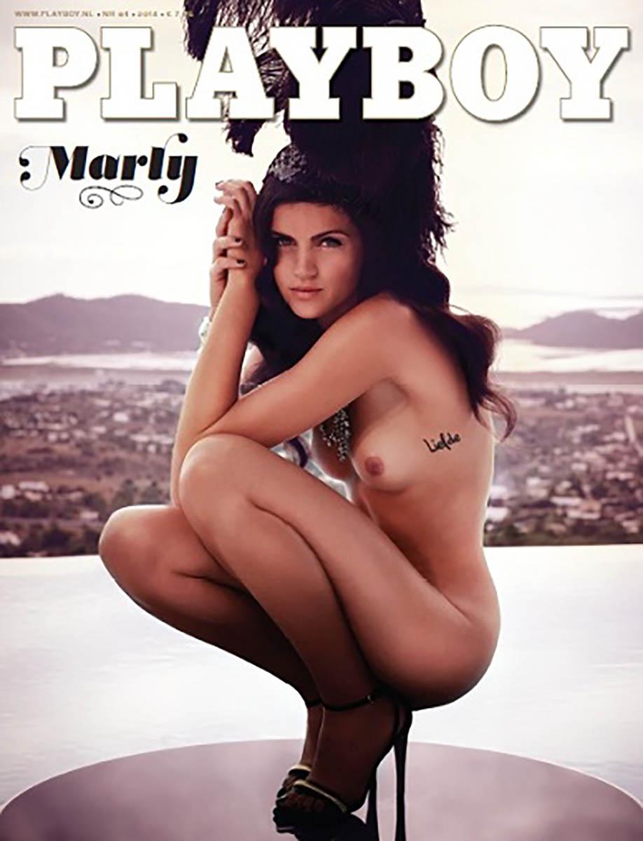 Marley van der Velden Playboy 1